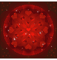 Valentines Day background or card vector image vector image
