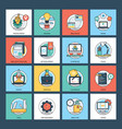 web and development pack vector image