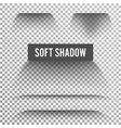 transparent soft shadow transparent and vector image