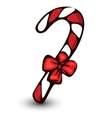 Candycane isolated on white vector image