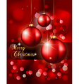 elegant classic christmas vector image vector image