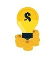 Money icon design vector image vector image