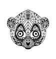 Zentangle stylized lemur Sketch for tattoo or t vector image vector image