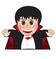 Little Dracula vector image