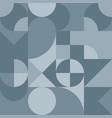 abstract geometric retro design seamless vector image vector image