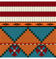 American indian pattern vector image vector image