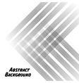 black abstract lines white background image vector image