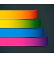 Colorful Sample stripes for various options vector image