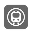 flat speed train vector image