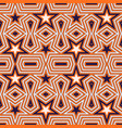 Geometric seamless pattern with stars