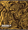 marble texture background deep yellow and fluid vector image vector image