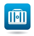 Medicine chest icon in simple style vector image vector image