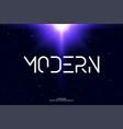 minimal modern alphabet minimalist letters vector image vector image