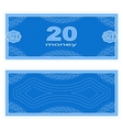 Play money Twenty vector image vector image