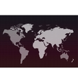 World map globe Earth texture vector image vector image