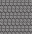 Black and white spiral pattern EPS10 vector image