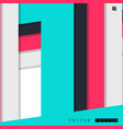 abstract design with a background of colorful vector image vector image