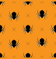 halloween pattern seamless vector image vector image
