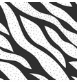 monochrome waves pattern vector image