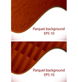 parquet wooden patterns vector image vector image