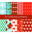 set of 10 bright and fun vector image vector image