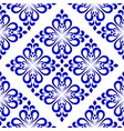 ceramic tile pattern design vector image vector image