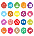 General useful flat icons on white background vector image vector image