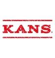 Kansas Watermark Stamp vector image