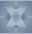 optical art background with 3d deformed vector image vector image