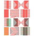 seamless wallpaper pencils vector image vector image