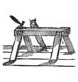 trestle vintage vector image vector image