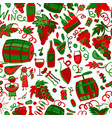 winery seamless pattern for your design vector image vector image