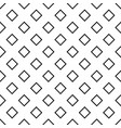 abstract monochrome repeating square pattern vector image vector image