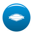 badge label icon blue vector image