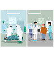 doctors office and hospital vector image