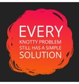 Motivational Poster about Problems vector image