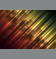 multicolor speed bar overlap in dark background vector image