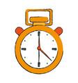 timer chronometer symbol vector image vector image