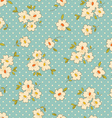 Vintage floral seamless background vector | Price: 1 Credit (USD $1)