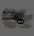 words black friday and sale on a dark background vector image