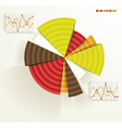 Business pie chart vector image