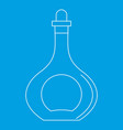 carafe icon outline style vector image vector image
