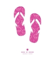 colorful cupcake party flip flops silhouettes vector image vector image