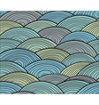 curled abstract waves vector image vector image