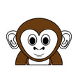 cute monkey design vector image