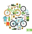 Bicycle Design Concept vector image vector image