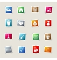 Cleaning service simply icons vector image vector image