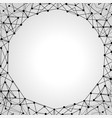 decorative futuristic frame vector image