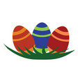 easter egg decoration or color vector image