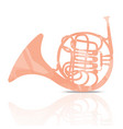 music-instrument-horn-colorful2 vector image vector image
